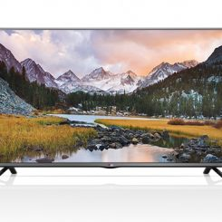 LG 49 Inch LED Standard TV Black