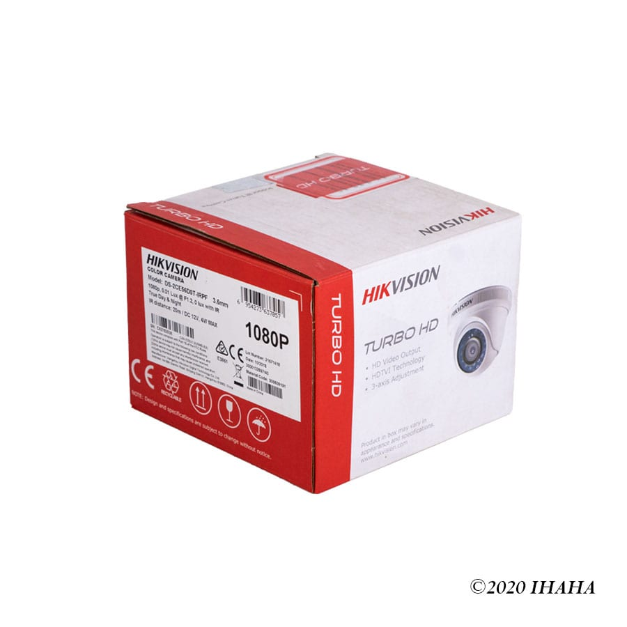 HIKVISION TURBO HD INDOOR CAMERA