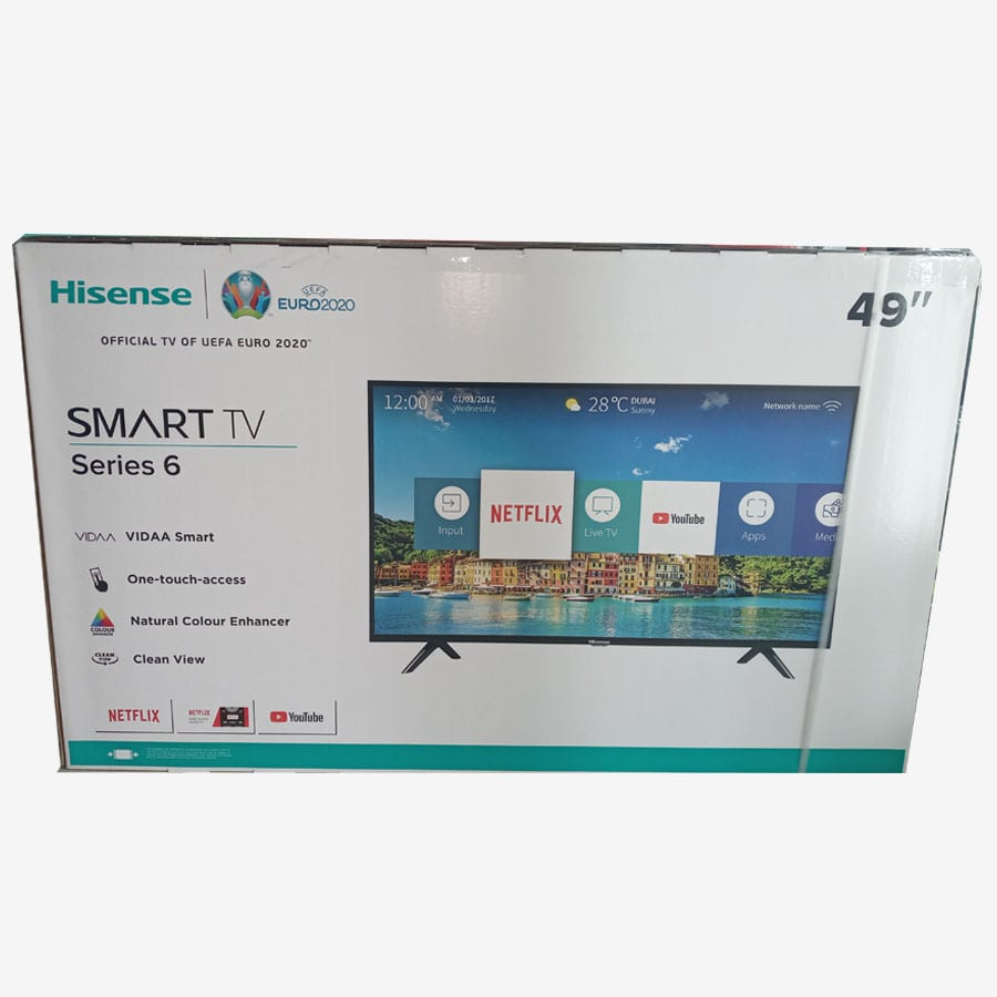 HISENSE 49 inches 4K Smart TV