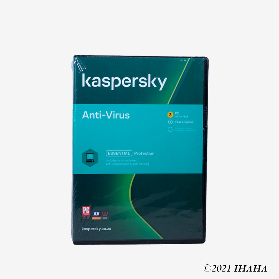 Karspersky Antivirus 2021 3+1 Users