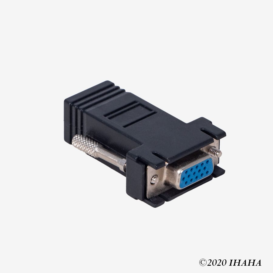 VGA to Ethernet Connector