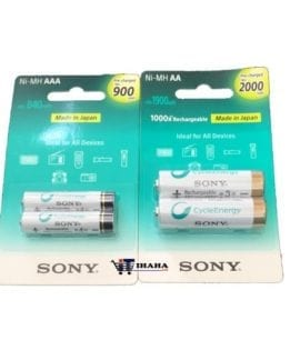 sony rechargeable