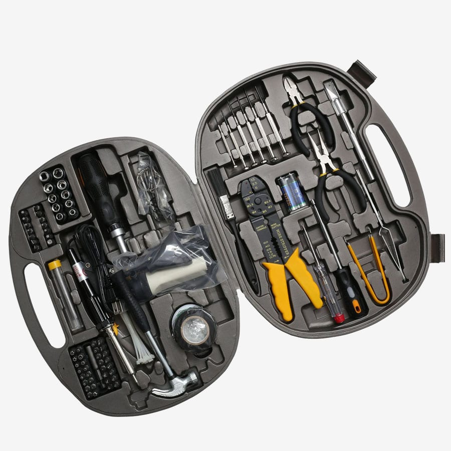 145 Piece Computer Repair Tool Kit