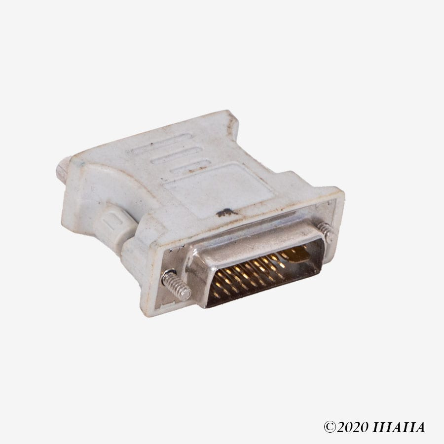 DVI to VGA Connector