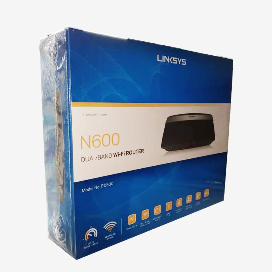 N 600 Dual Band Wi-Fi Router