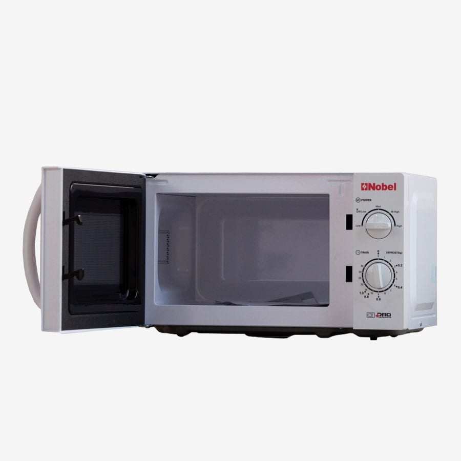 NM020 NOBEL MICROWAVE OVEN WHITE 20 LITRES MANUAL