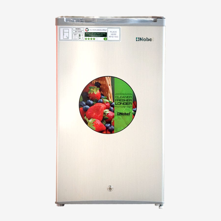 NR130SSN NOBEL SINGLE DOOR SILVER 130 LITRES NO FROST