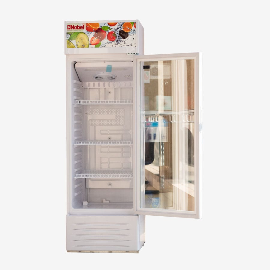 NSF245 NOBEL UPRIGHT CHILLER - SINGLE DOOR WHITE 245 LITRE (2)