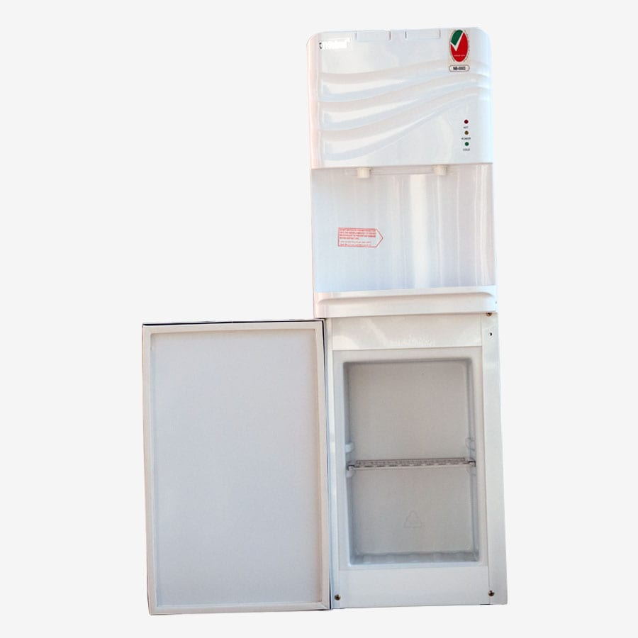 NWD1601 NOBEL FREE STANDING WHITE CABINET