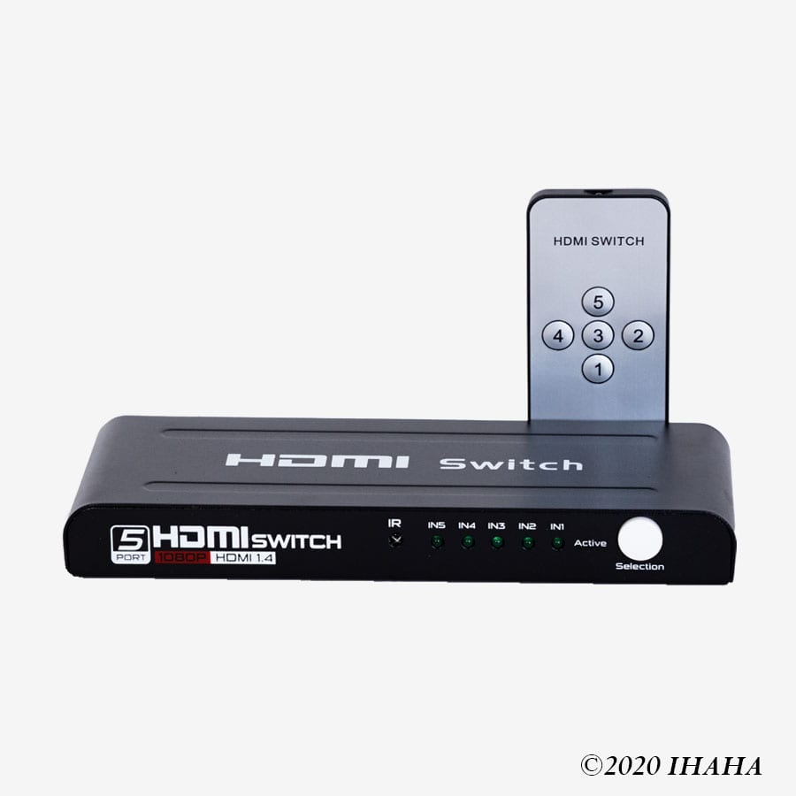 HDMI Switch 5 Ports Model FJ-HD501