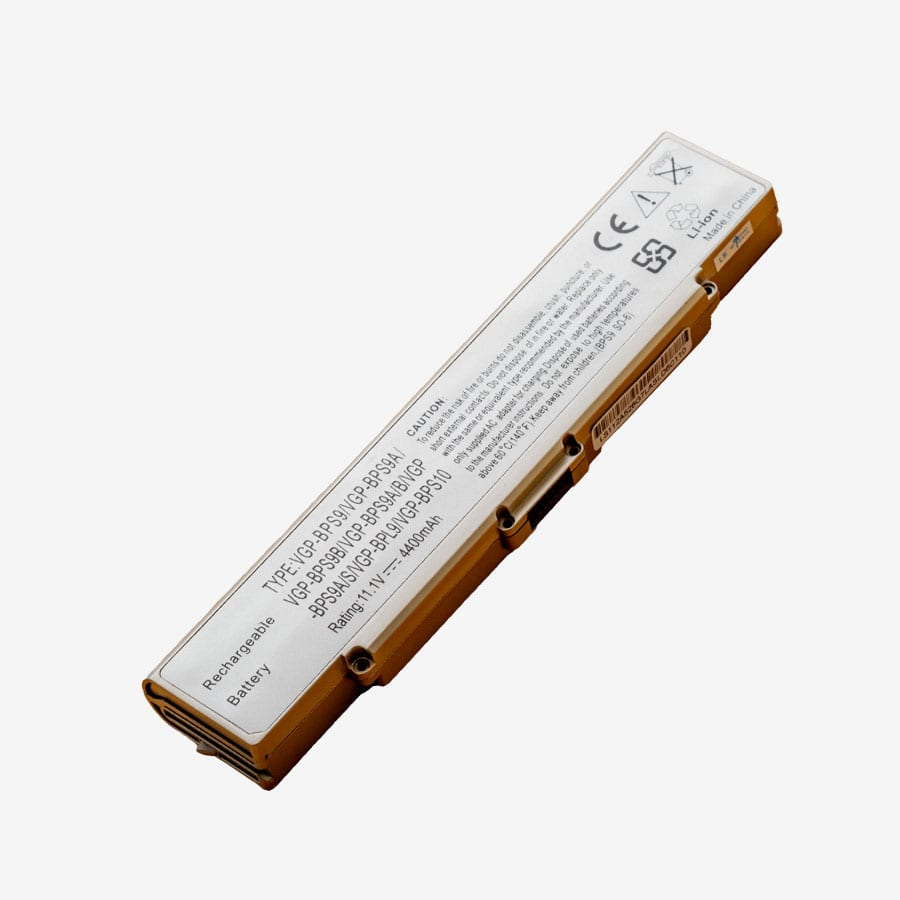 Replacement Battery for SONY VAIO VGP-BPS9S, VGP-BPS9 11.1V 4400mAh