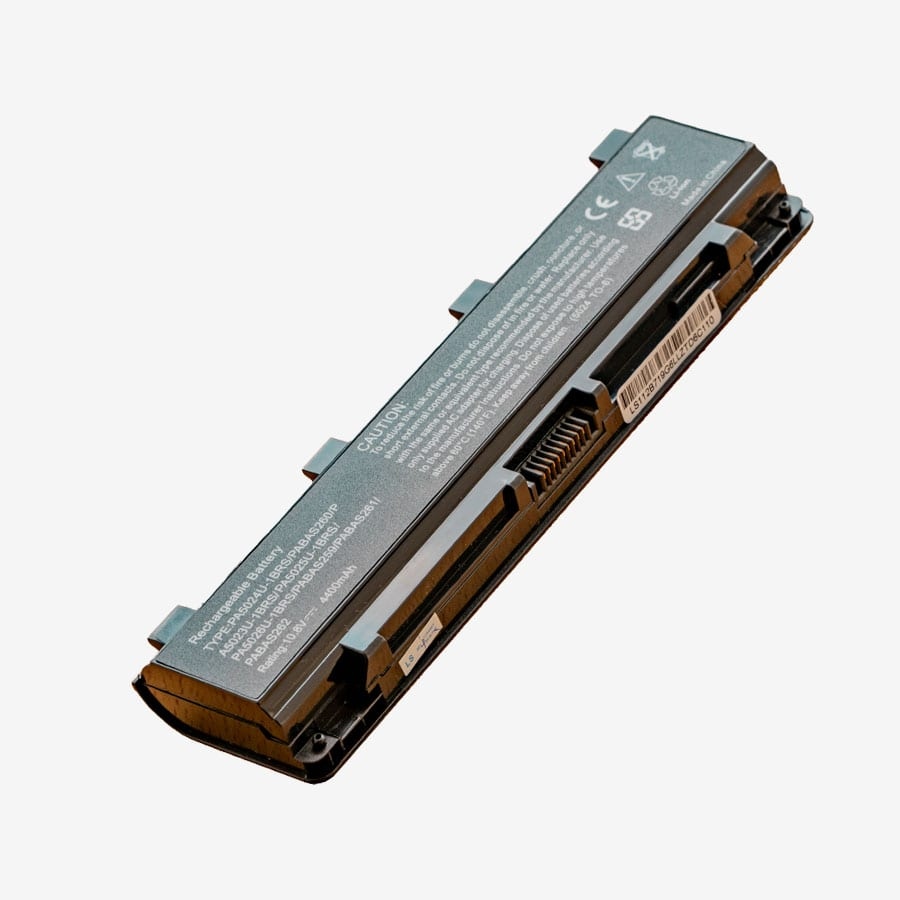 Replacement Battery for Toshiba Satellite PA 5024, L800, M800, PA5024U-1BRS 10.8v 4400 mAh