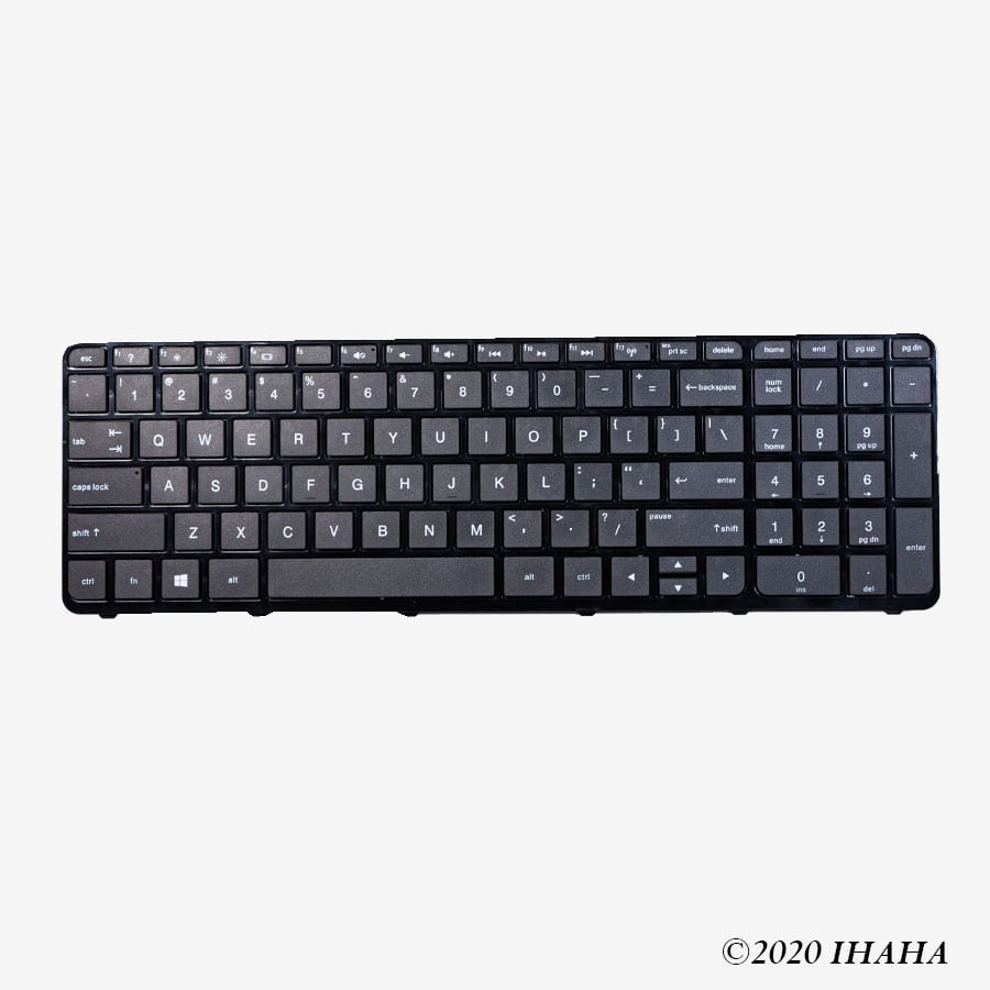 Replacement Keyboard for HP Pavilion 15-A, 15-D, 15-H, 15-G, 15-F, 15-E, 15-R, 15-N